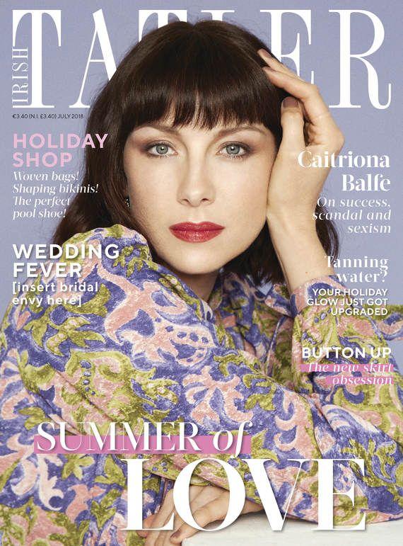Capa de julho da revista Irish Tatler